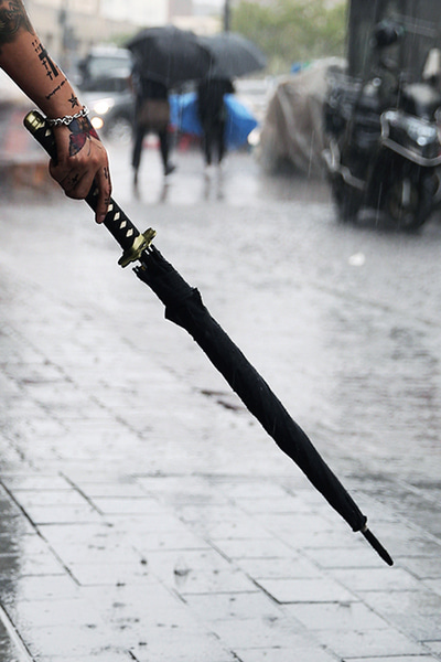 Oriental Sword Umbrella