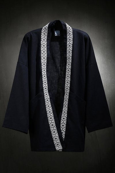 Mukha ethnic band robe cardigan